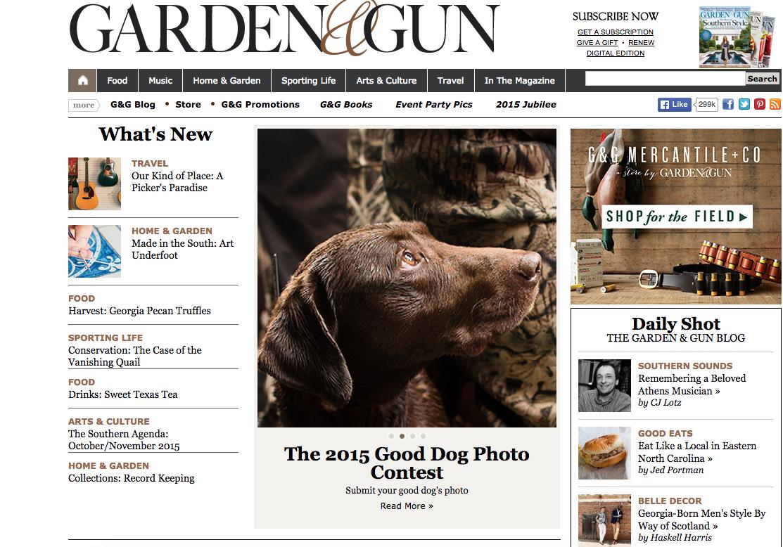 garden and gun rick bach - Garden And Gun Magazine